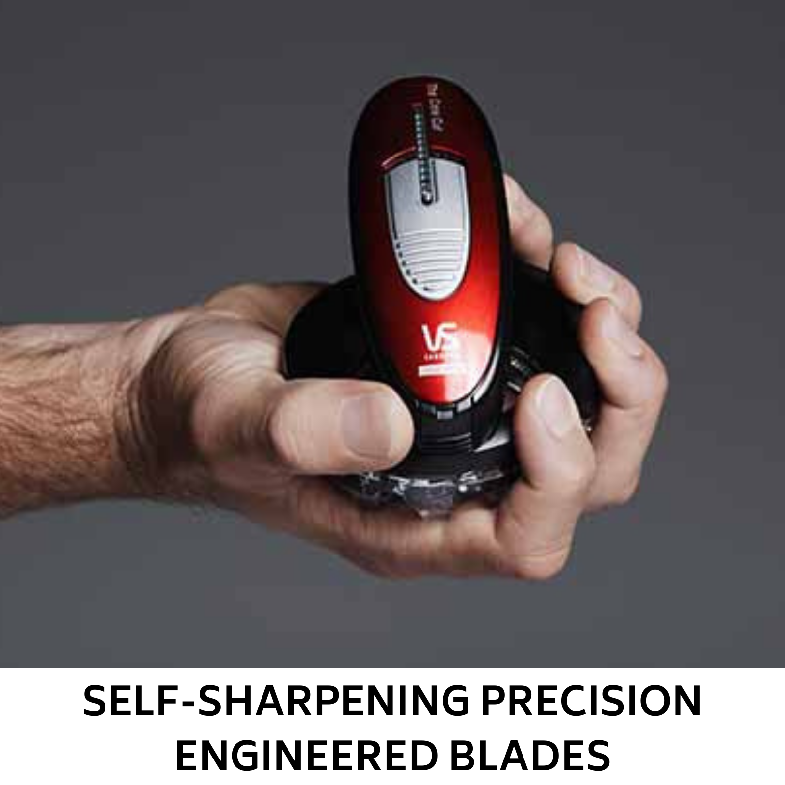 Mens Hair Clippers Trimmer Crew Cut Shaver Home Hair Cutting Grooming VS Sassoon